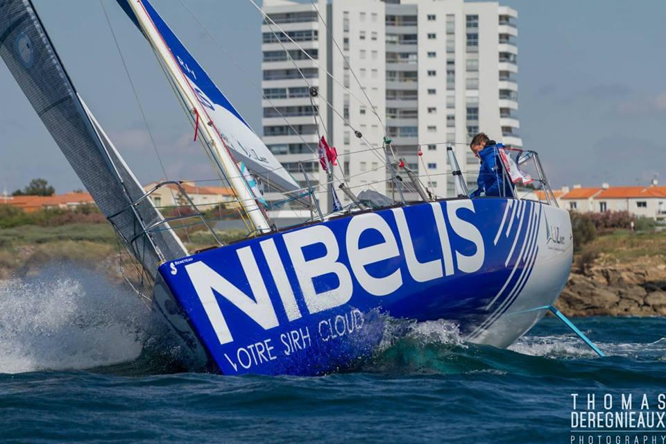 Tanguy Le Turquais particpates now to the La Solitaire URGO Le Figaro