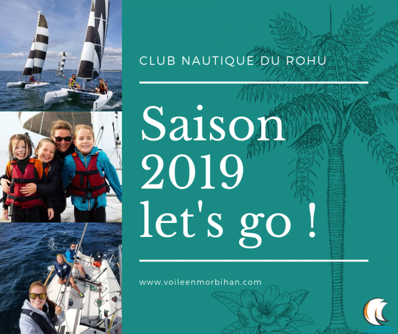 Club Nautique du Rohu Voile Bateau Saint Gildas de Rhuys
