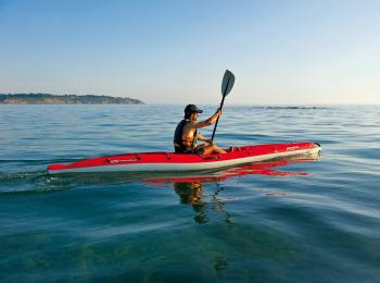 Kayak rental with the Club Nautique du Rohu