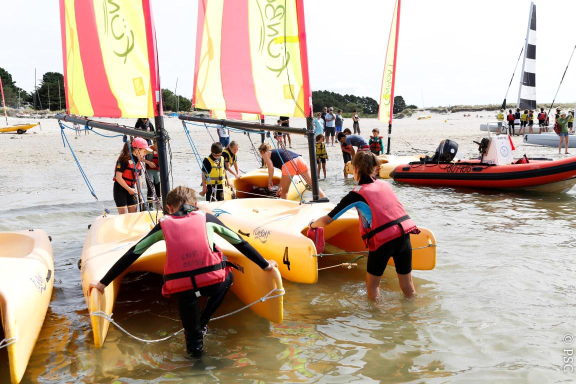 Club Nautique De Nice sailing france: courses, catamaran, dinghy and windsurf in
