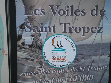 Club Nautique du Rohu worldwide - Voiles de St Tropez