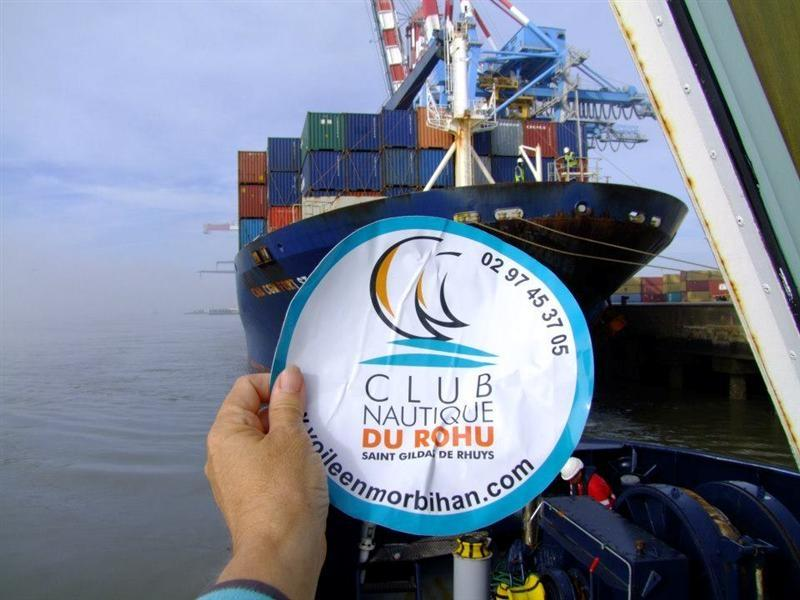 The Club Nautique du Rohu around the World