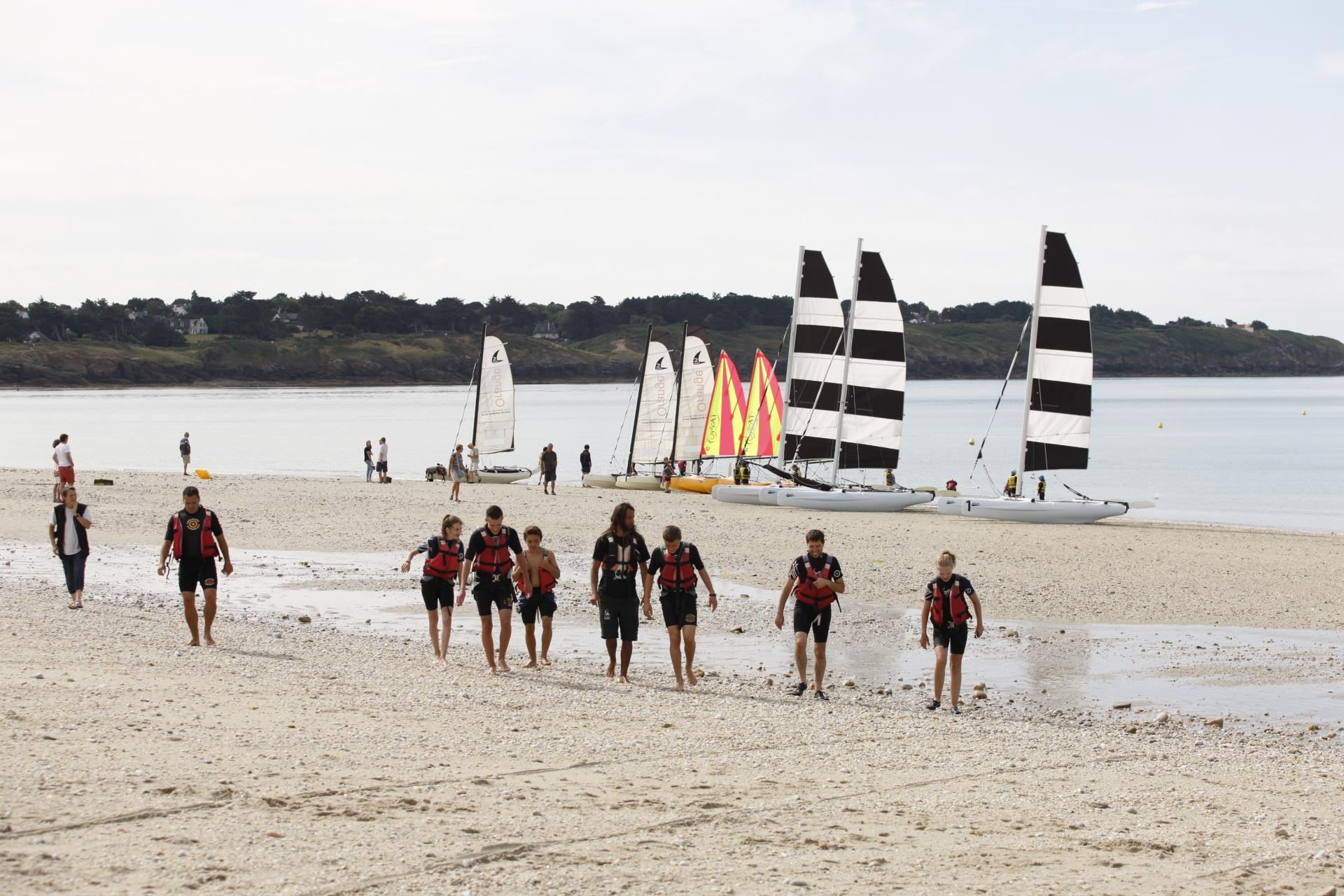 Club Nautique du Rohu - Sailing School in Brittany (Morbihan)