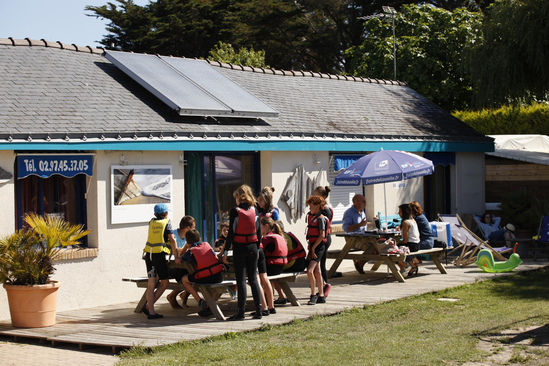 Club Nautique du Rohu Sailing School in Brittany (Morbihan)