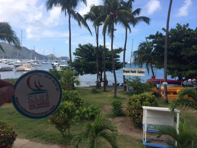 The Club Nautique du Rohu at Bequia - Dec. 2016