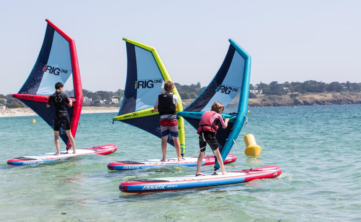 Inflatable Windsurf Sail easy to learn