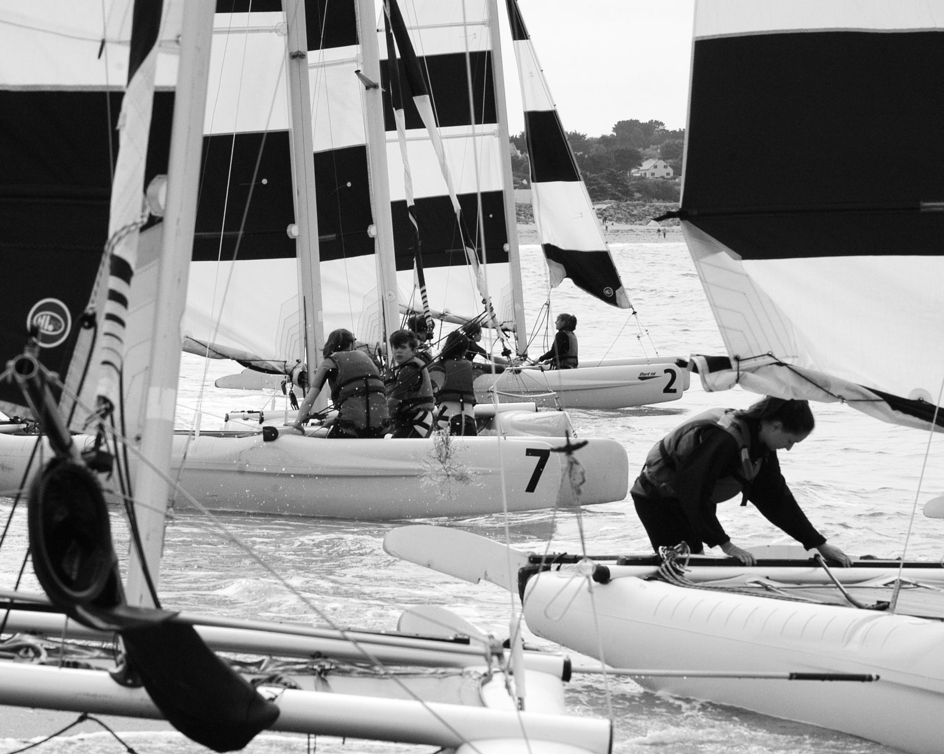 Club Nautique du Rohu - catamaran sailing