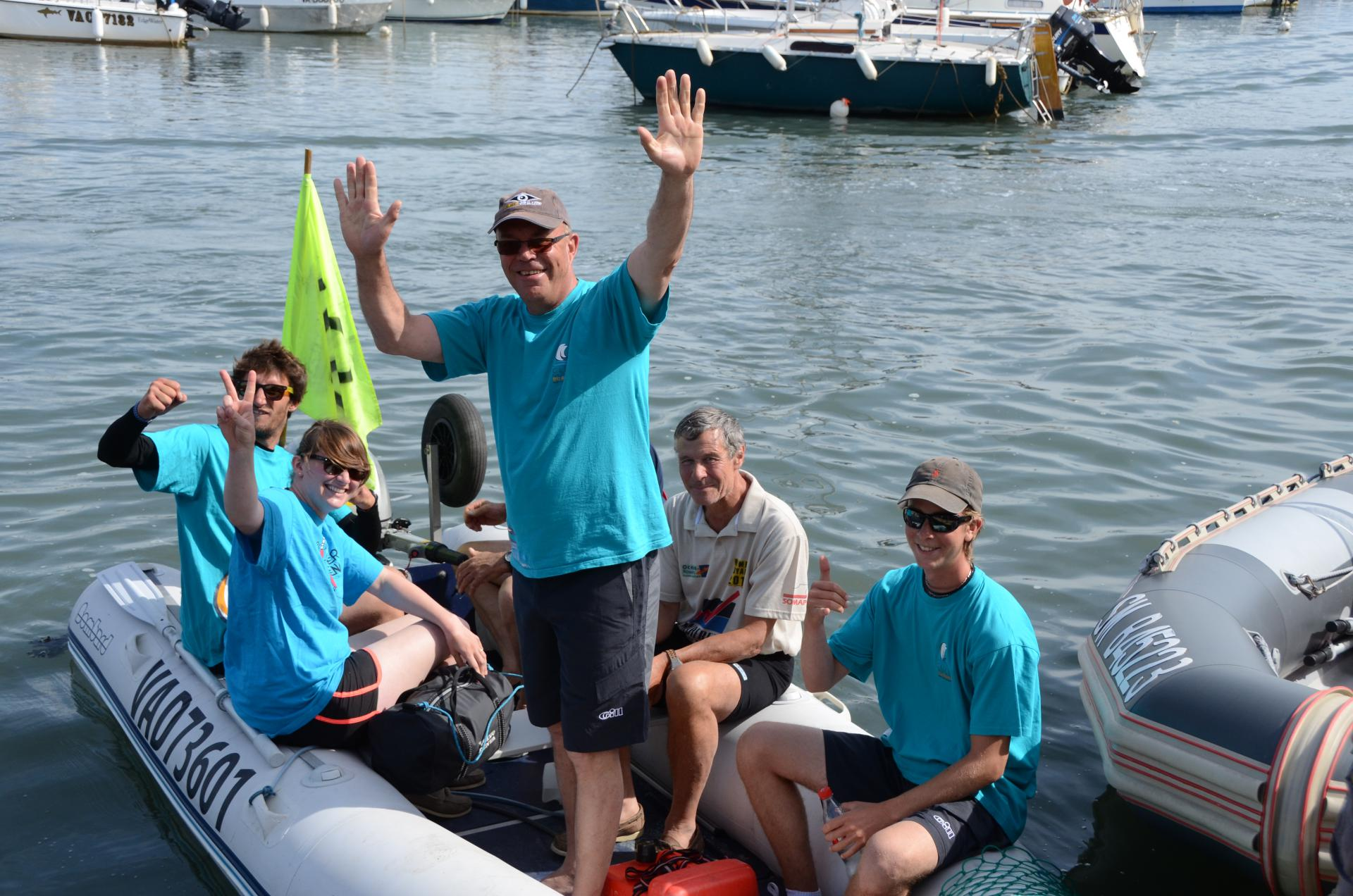 Club Nautique du Rohu - kayaking competition for the instructors