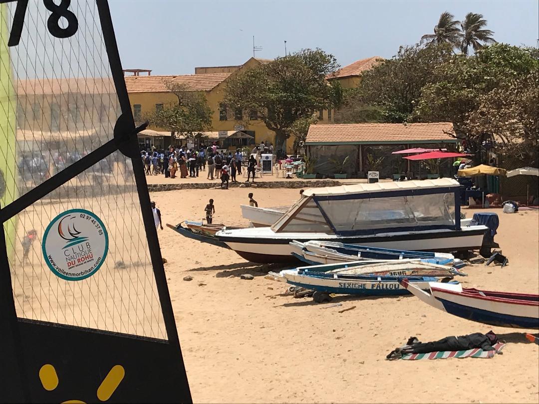 The Club Nautique du Rohu in Senegal - April 2019