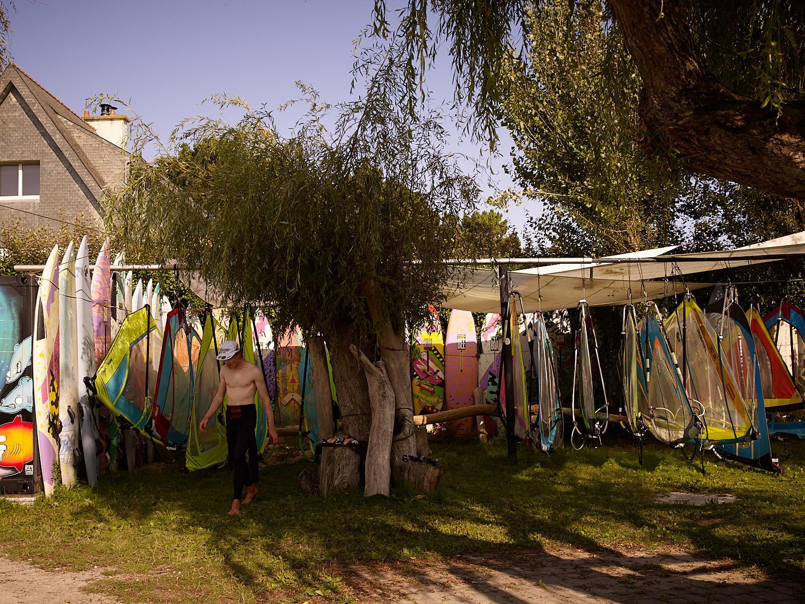 Club Nautique du Rohu - Windsurf sails