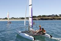 Gift voucher idea: Catamaran at Club Nautique du Rohu (Morbihan, Brittany)