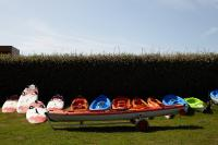 Club Nautique du Rohu - The kayaks and funboards