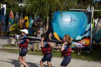 Club Nautique du Rohu - Back from a Funboat session