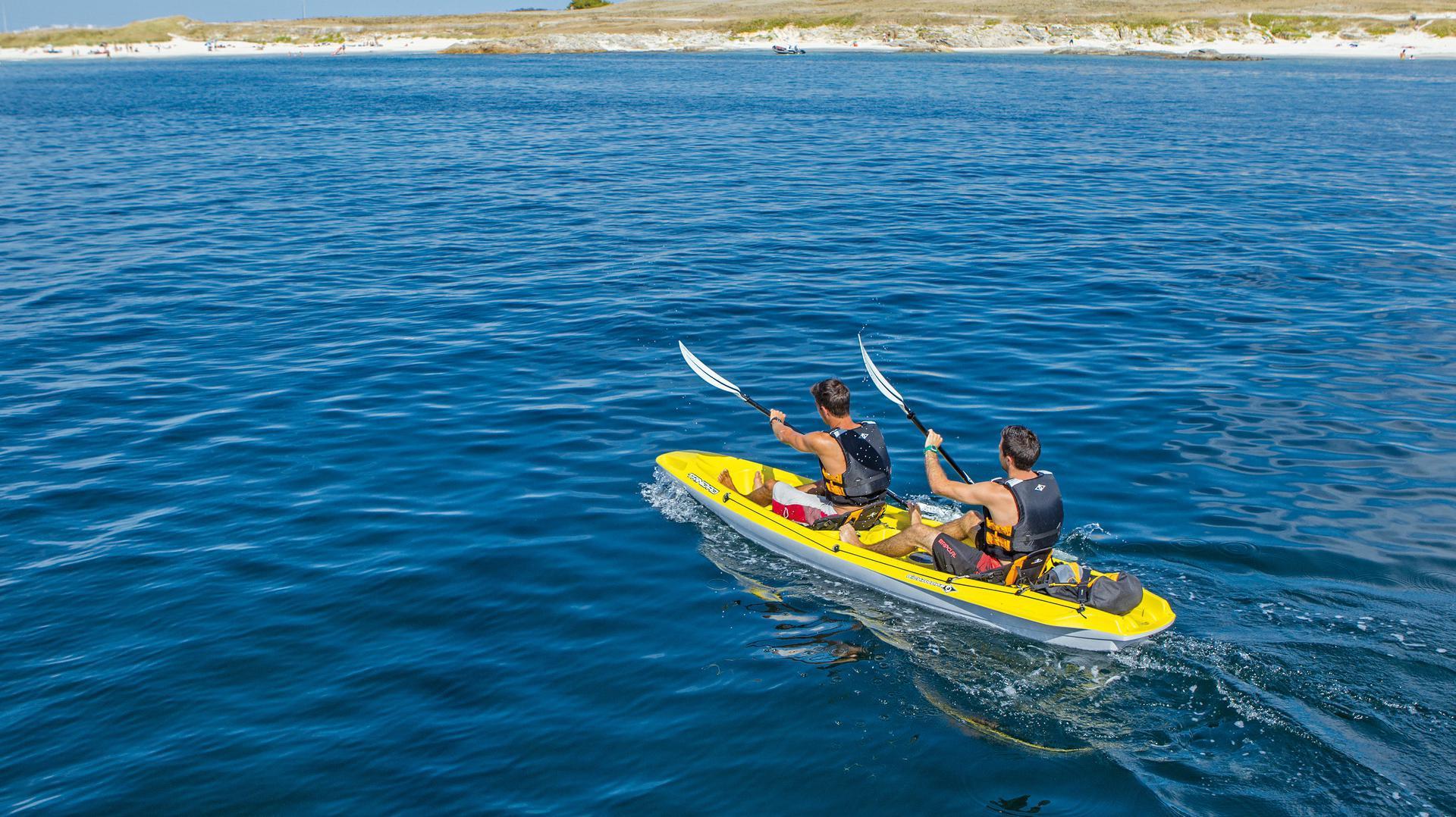 Balade en Kayak double au Club Nautique du Rohu