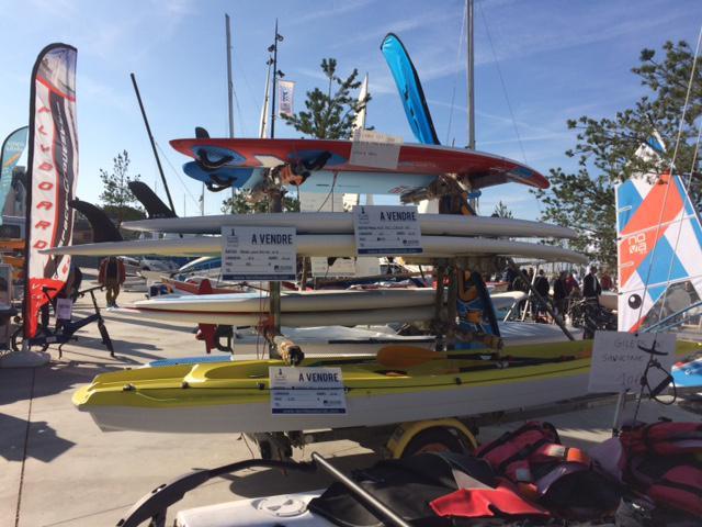 Planche à voile et Kayak d