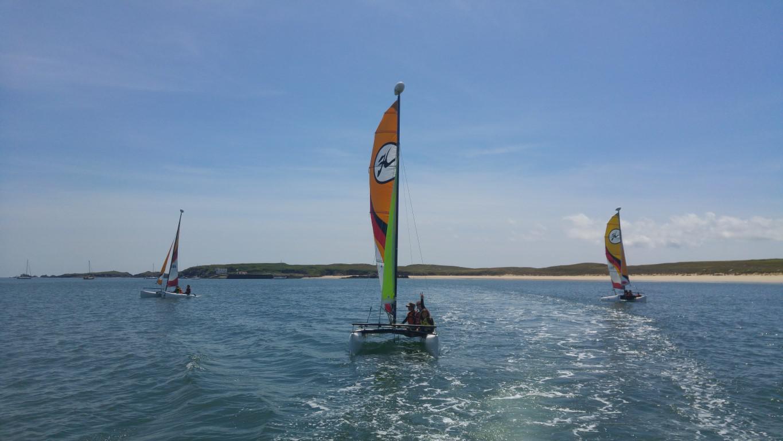 Club Nautique du Rohu sur la Grande plage de Houat