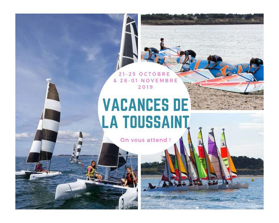 Vacances de la Toussaint 2019 - Club Nautique du Rohu