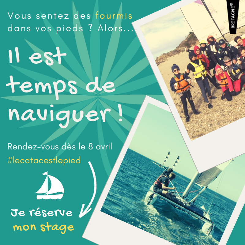 Club Nautique du Rohu - Stages de voile - Catamaran et Planche à voile