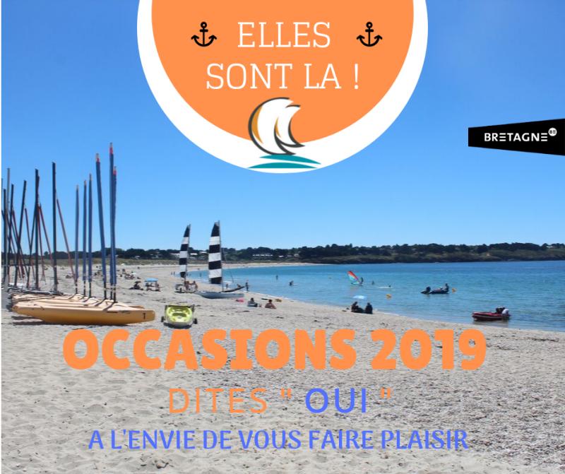 Occasions 2019 - ELLES SONT LA !! - Club Nautique du Rohu