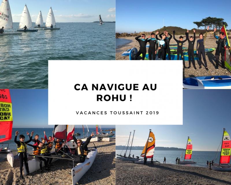 Club Nautique du Rohu - Ça navigue au Rohu !