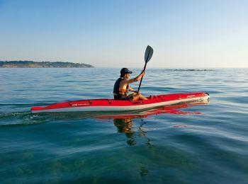 Location de kayak au Club Nautique du Rohu