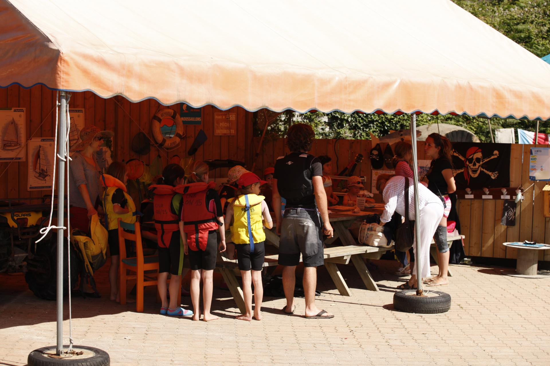 Club Nautique du Rohu - Ecole de voile