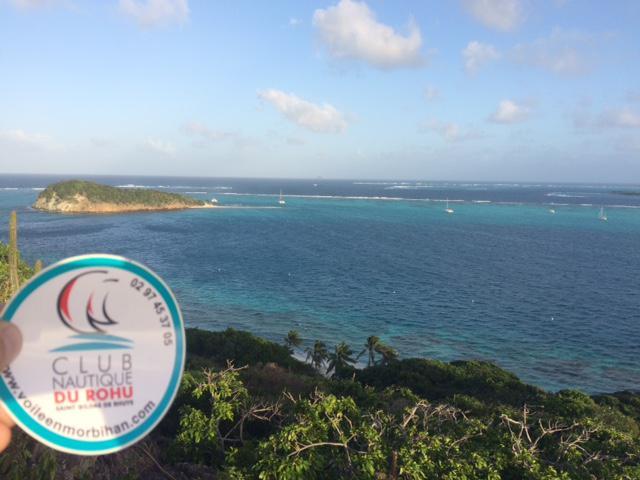 Le Club Nautique du Rohu à Tobagos Cays - Déc. 2016