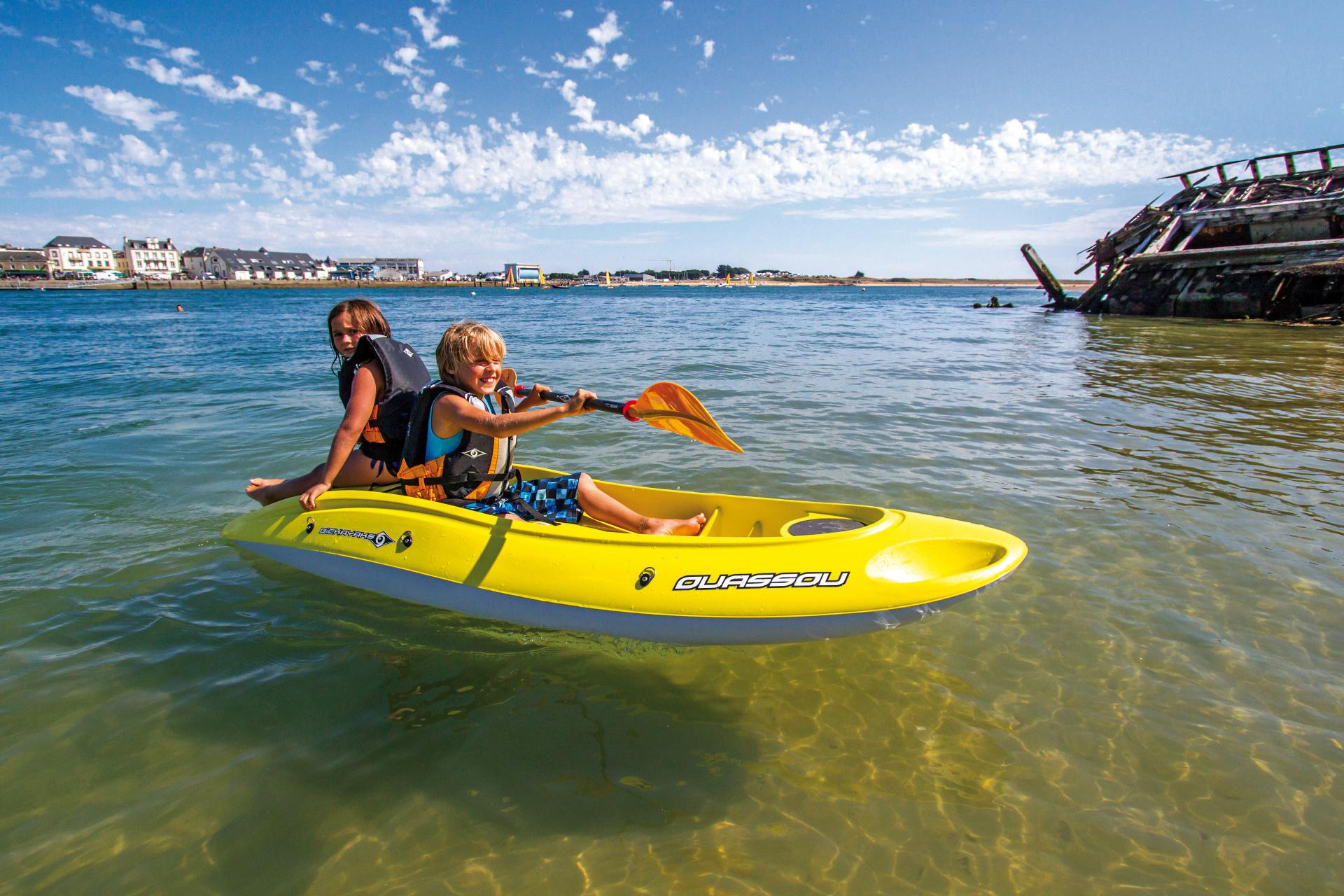 Idée cadeau : Kayak au Club Nautique du Rohu (Morbihan, Bretagne)