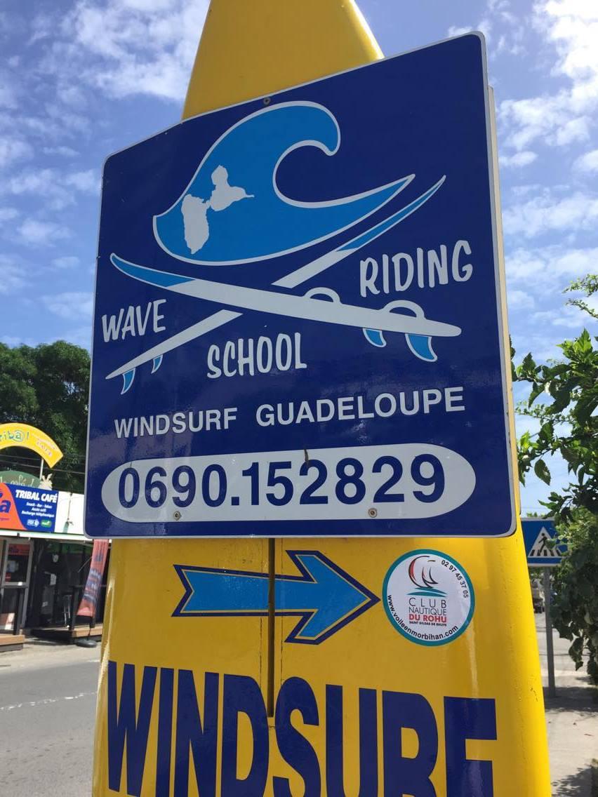 Le Club Nautique du Rohu en Gouadeloupe - février 2017