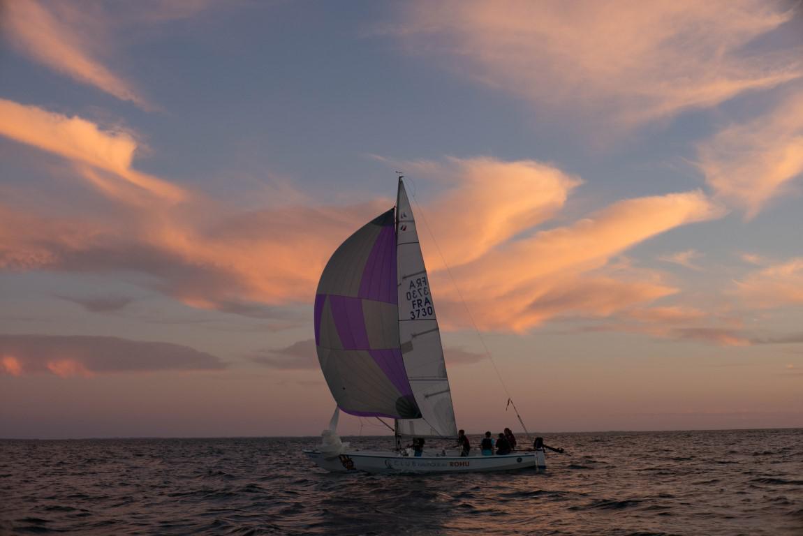 Club Nautique du Rohu -Paulo le Mentor dans le Golfe du Morbihan