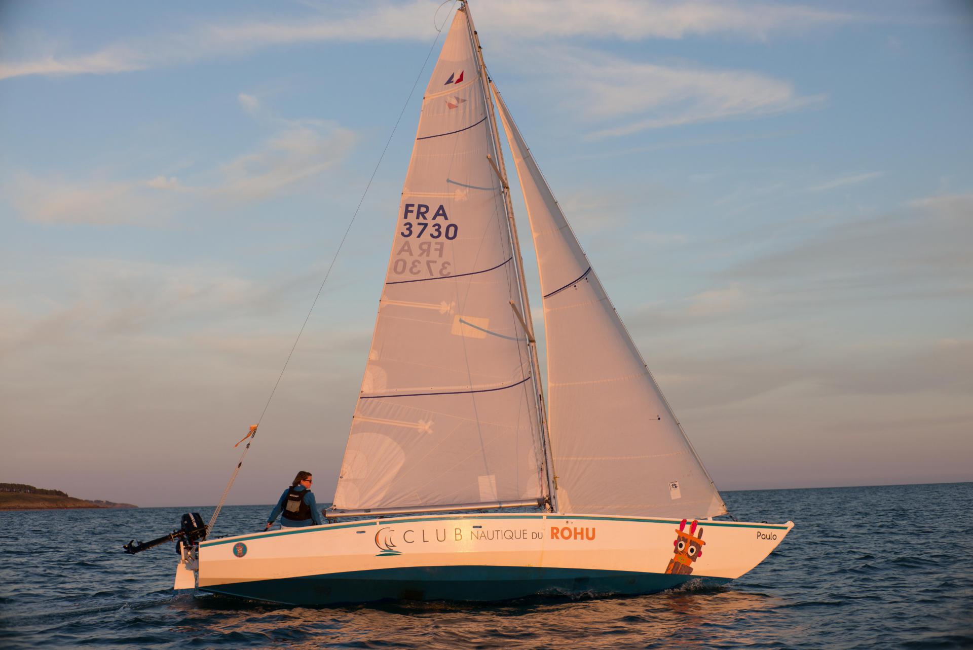Club Nautique du Rohu - Paulo le Mentor dans le Golfe du Morbihan