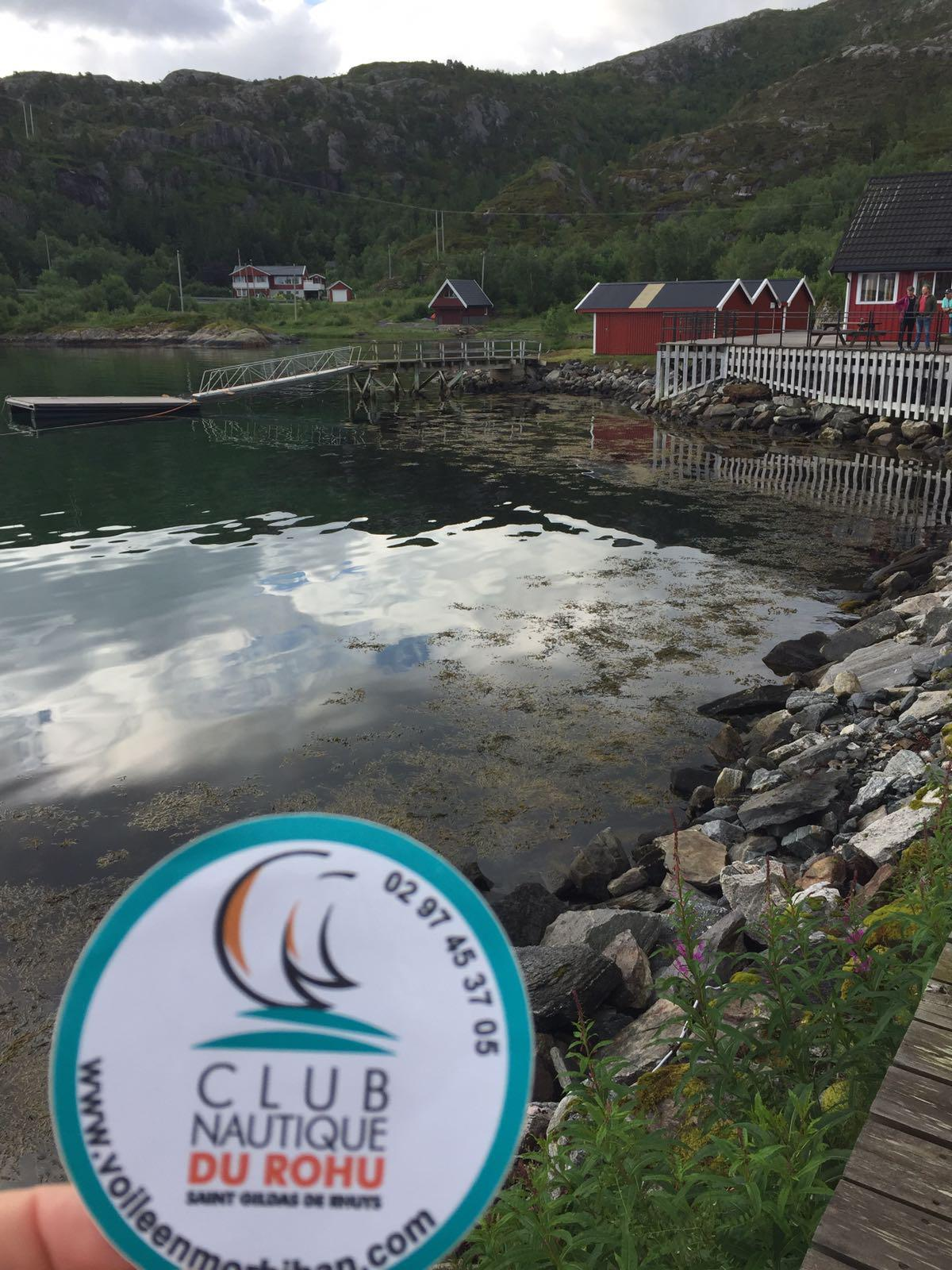 Le Club Nautique du Rohu en Norvege - Port Kilbogham - juillet 2017