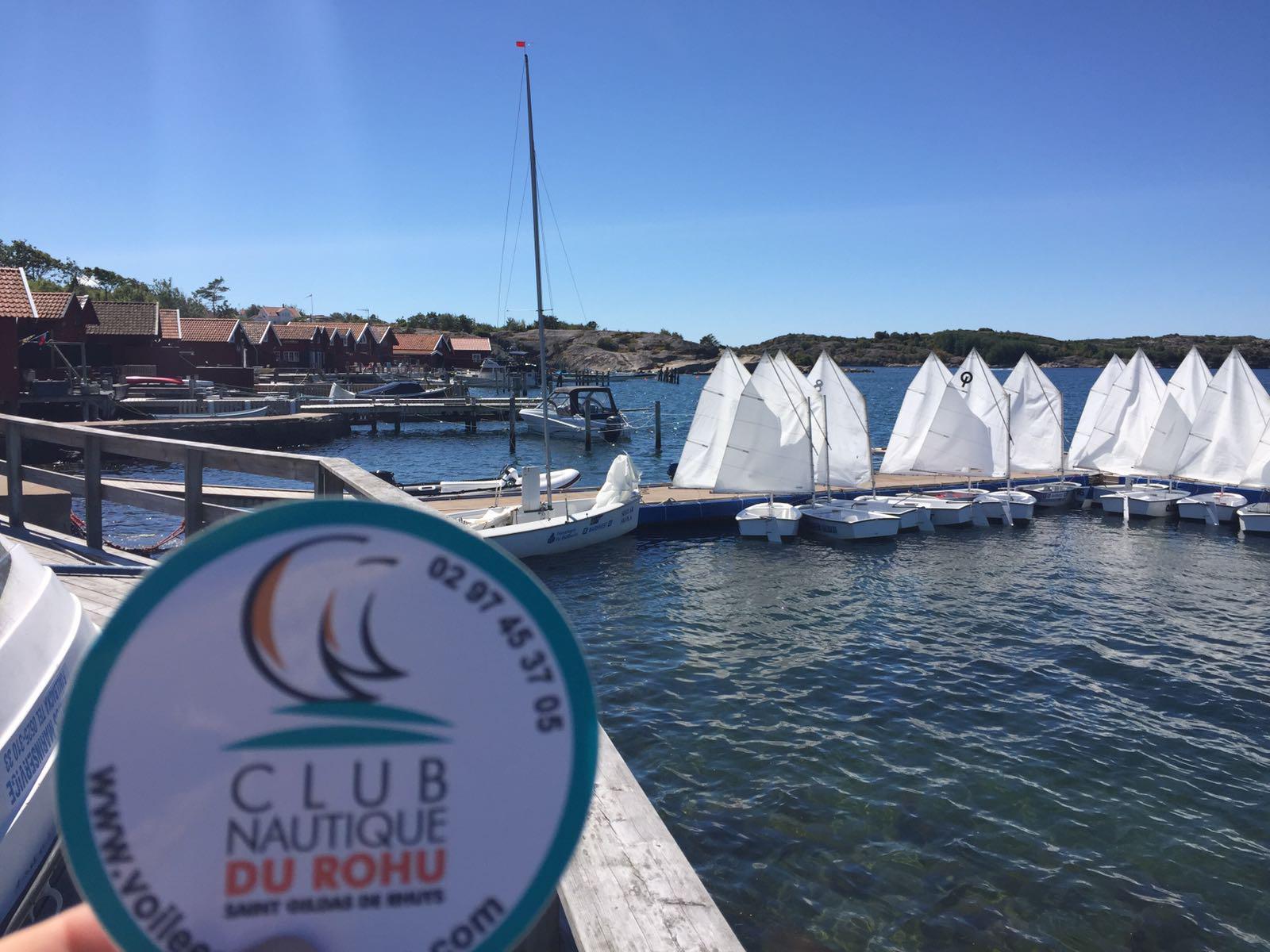 Le Club Nautique du Rohu en  Suede - Fjalbacka - juillet 2017