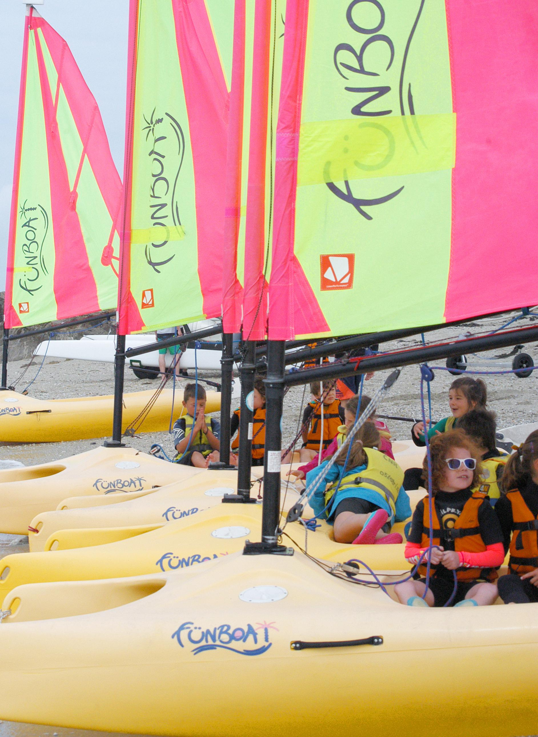 Club Nautique du Rohu - funboat