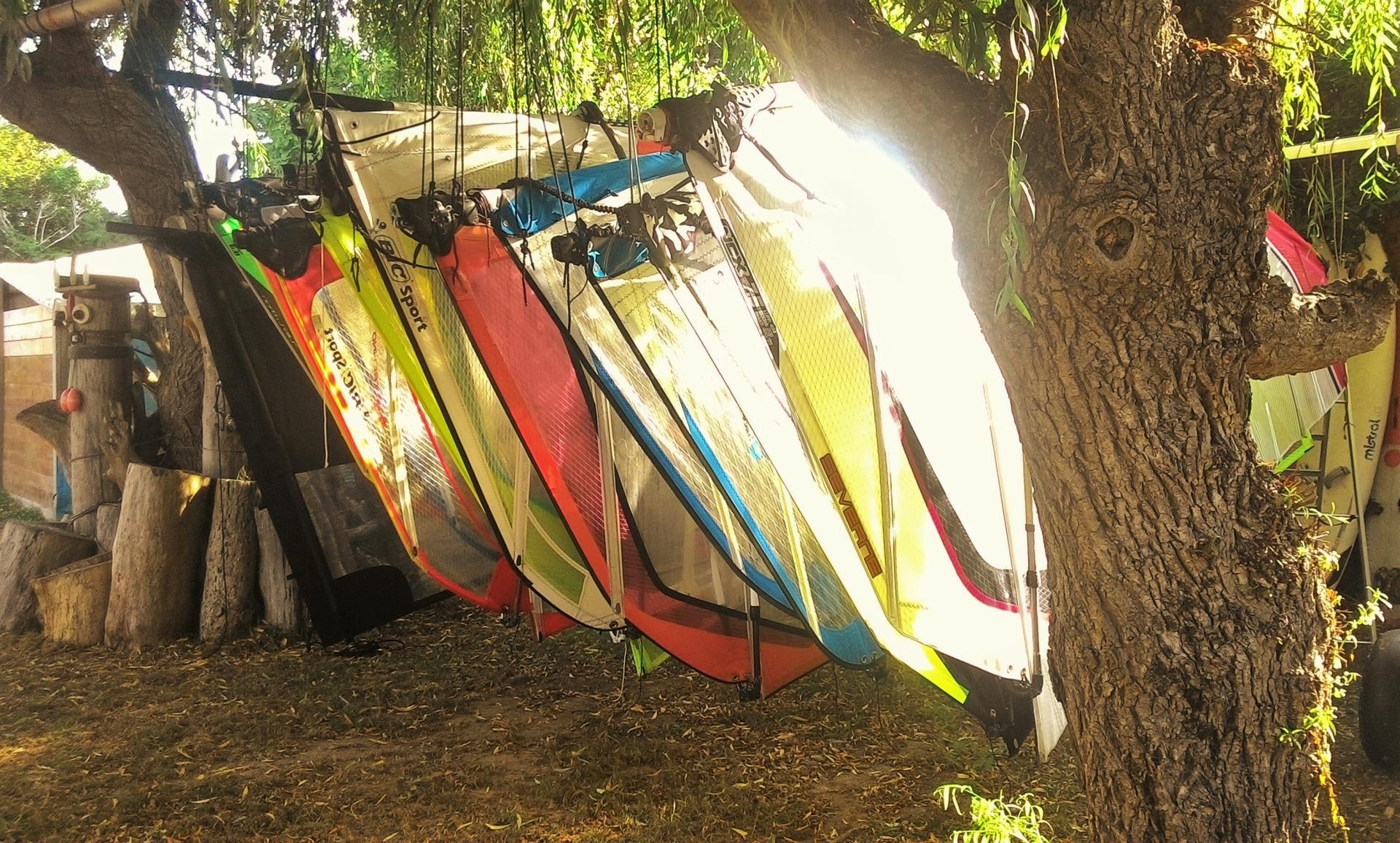 Club Nautique du Rohu - Les voiles de planche