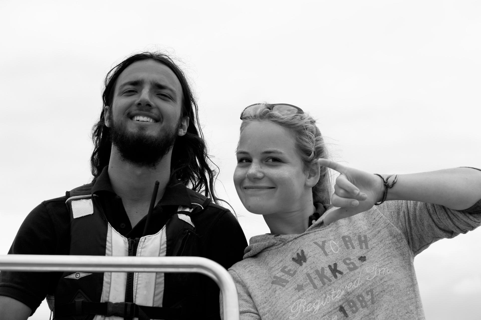 Club Nautique du Rohu - Erwan & Mathilde