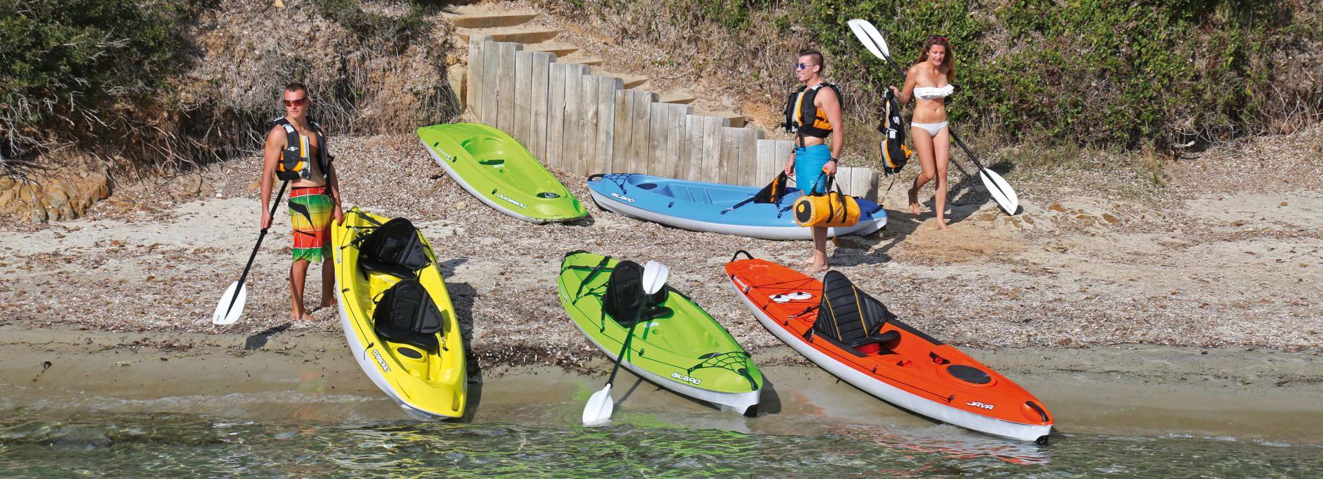 Sortie entre amis en kayak pour fêter un anniversaire au Club Nautique du Rohu, Morbihan, Bretagne