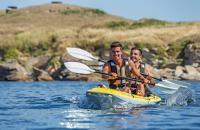 Kayak en famille ou en groupe dans le Morbihan, Bretagne