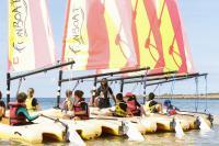Idée cadeau : Départ du stage de Funboat au Club Nautique du Rohu