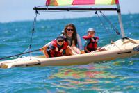 Idée cadeau : cours particuliers en Funboat au Club Nautique du Rohu